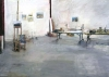 "Moving Into Studio A - 2006<br>Pastel: 43"" x 61"""